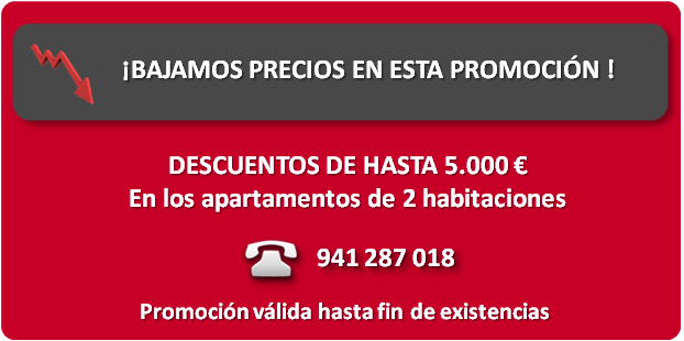 promocion apartamentos en logroño